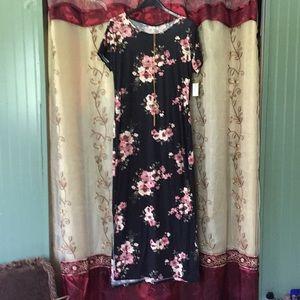 NWT Soft Bobbie Brooks Dress
